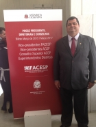Posse do Vice Presidente da RA 13- FACESP 2015 Roberto Carlos Cassiano